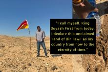 Indian Man Declares Himself 'King' Of Unclaimed Land Between Egypt And Sudan