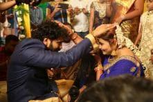 Actress Namitha Ties the Knot With Producer Veerandra Chowdhary