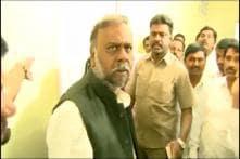 Karnataka Minister Caught on Camera Abusing Staff, BJP Calls Congress 'Serial Offenders'