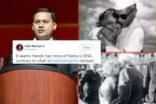 To Prove Nehru A 'Womaniser', BJP Tweets Pictures Of Nehru With Sister