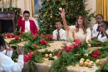 Melania Trump inaugurates White House Christmas Decor