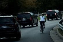 Cyclist Fired for Showing Donald Trump Middle Finger Sues Ex-employer