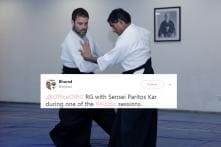 Rahul Gandhi Wasn't Fibbing About His Black Belt In Aikido. Here's Proof.