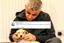 London Mayor Sadiq Khan's New Puppy Is Melting Hearts On Internet