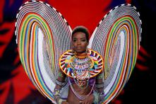 Natural Hair Rules At The 2017 Victoria's Secret Fashion Show