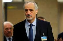 Defiant Syrian Envoy Blames West, Saudis and UN as Peace Talks End