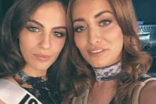 Miss Iraq Takes Selfie With Miss Israel, Family Forced to Flee Country