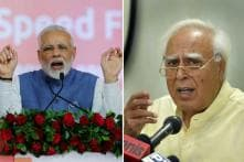 PM Narendra Modi Attacks Kapil Sibal, Congress for 'Linking Ram Mandir With Politics'