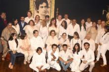 Kapoors Unite For a Family Photograph At Shashi Kapoor's Prayer Meet