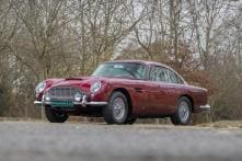 Iconic 1960s Aston Martin DB5 Owned by Led Zeppelin's Vocalist Goes Up For Sale
