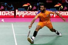 Prannoy, Sourabh Star in Ahmedabad Smash Masters' Win Over NE Warriors