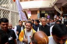 BJP Supporters Crash Rahul Gandhi's Temple Run, Chant 'Modi, Modi'