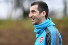 Arsenal's Henrikh Mkhitaryan Out for Six Weeks