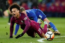 Man City Confirm Ankle Ligament Damage for German Leroy Sane