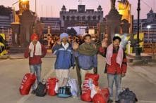 147 Indian Fishermen Released by Pakistan Cross Over Via Wagah Border