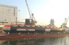 India Launches Scorpene-Class INS Karanj, But Navy Chief Worries About Delay in Submarine Projects