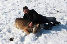 Kosovo Farmer Names One of His Wolves Trump