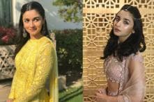 Alia Bhatt Looks Like The Perfect Bridesmaids At Her Friend's Wedding; See Pics