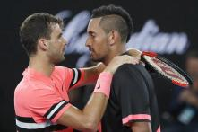Australian Open: Dimitrov Holds Nerve to End Kyrgios's Run