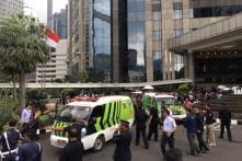 Second Floor of Indonesia Stock Exchange Collapses, Several Injured