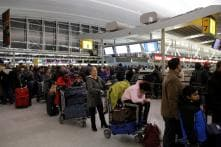JFK Airport Terminal Flooded as Brutal Cold Grips US East Coast