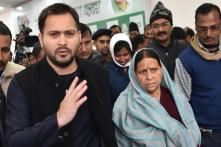 Lalu's Wife Rabri Devi, Son Tejashwi Yadav Granted Bail in IRCTC Scam Case
