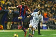 Giampaolo Pazzini Late Sees Levante Steal a Point from Real Madrid