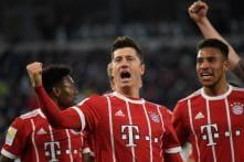 Bundesliga: Robben Misses Penalty But Bayern Munich Cruise Against Wolfsburg