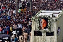 Actor Sridevi's Ashes to be Immersed in Rameswaram Today