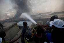 Massive Fire at the Biggest Clothing Market in Port-au-Prince