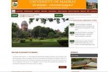 Madras University November 2017 Exam Revaluation: Apply before 8th February 2018