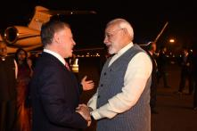 Jordan King Arrives on 3-day Visit; PM Narendra Modi Receives Him at Airport