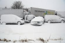 Pics: Europe Hits New Season Low, Rare Snowstorm Paralyses Rome