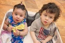Taimur Ali Khan, Inaaya Naumi Kemmu Chilling by the Beach in Maldives is Too Cute to Handle