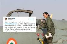 Twitter Goes Gaga Over Avani Chaturvedi, the First-Ever Indian Woman Fighter Pilot
