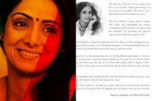Sridevi's Family Shares Heartfelt Letter, Asks Fans to Help Khushi, Jhanvi Remember Their Mother Fondly