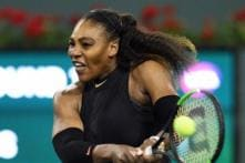 Rusty Serena Williams Returns With a Bang at Indian Wells