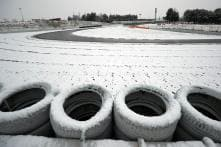 Formula One: Snow Wipes Out Third Day of Testing