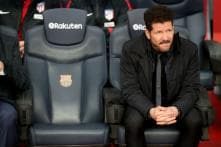 Atletico Coach Says Costa Unlikely to Play First Leg Against Arsenal