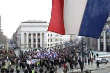 Croatians Protest Against European Treaty They Say Threatens Traditional Family