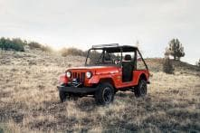 Mahindra Thar Based Roxor Off-Road Side x Side SUV Detailed Image Gallery