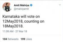 Curious Case of BJP's Amit Malviya Announcing Karnataka Poll Dates Before EC