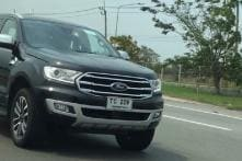 2018 Ford Endeavour (Everest) Facelift Spied Testing in Thailand