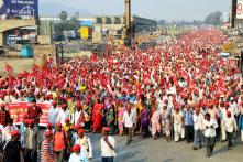 RSS-affiliated Bharatiya Kisan Sangh Says Farmers' Protest in Mumbai Will Lead to Nothing