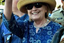 Hillary Clinton Fractures Right Wrist, Treated in Jodhpur Hospital