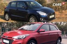 2018 Maruti Suzuki Swift Vs Hyundai Elite i20 Facelift Spec Comparison - Price, Features, Mileage