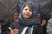 Mehbooba Mufti Supports AMU Students Accused of Sedition, Calls Mannan Wani 'Victim of Violence'