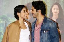 Varun Dhawan and Banita Sandhu at 'October' Trailer Launch