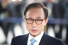 South Korean Ex-president Lee Admits Taking $100,000 From Spy Agency