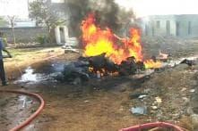 Indian Navy's Heron Drone Crashes in Gujarat's Porbandar